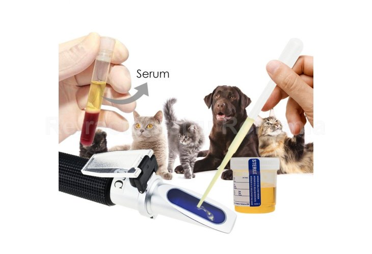 RHC-300 ATC Pet Dog and Cat Refractometer Blood Protein Serum