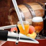 Refractometru pentru must de bere si fructe, scala duala 0~32% Brix 1.000-1.120 SG